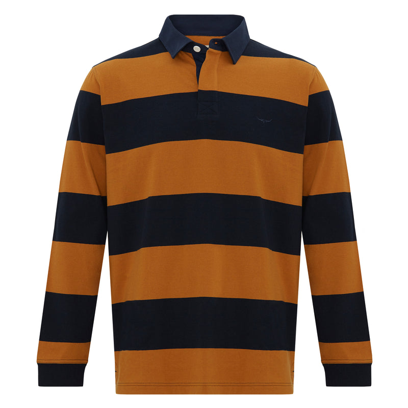 RM Williams Tweedale Block Stripe Rugby