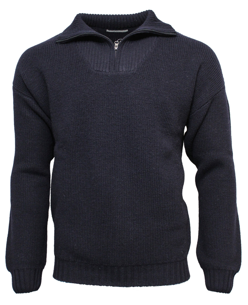 Landline Wool Country Half Zip Knit