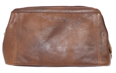 Pierre Cardin Leather Toiletry Bag (4498857197705)
