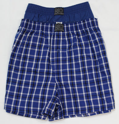 RIO Woven Boxer Shorts 2 Pack