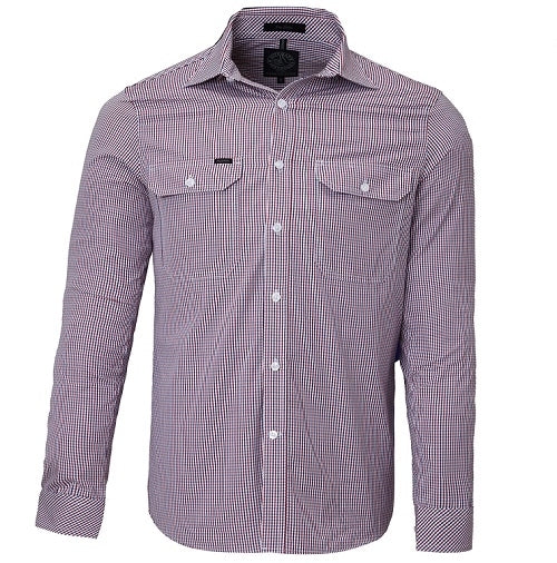 Ritemate Pilbara Check Double Pocket Shirt (4498137186441)