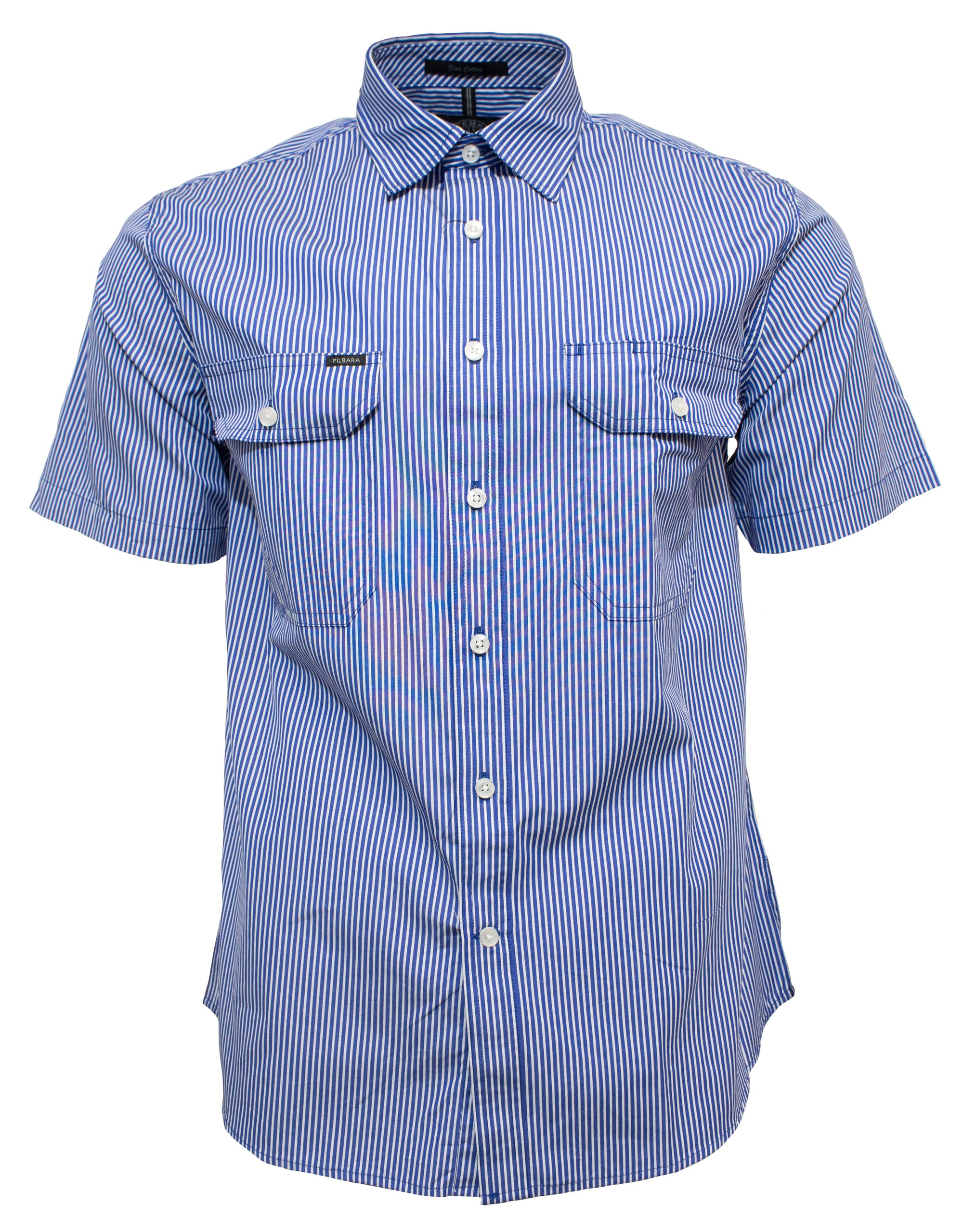 Ritemate Pilbara Short Sleeve Stripe Shirt (4498138857609)