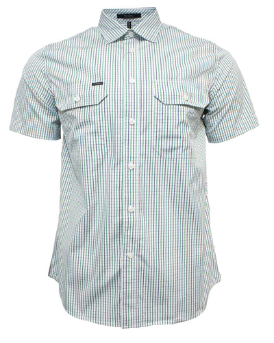 Ritemate Pilbara Short Sleeve Check Shirt (4498140463241)