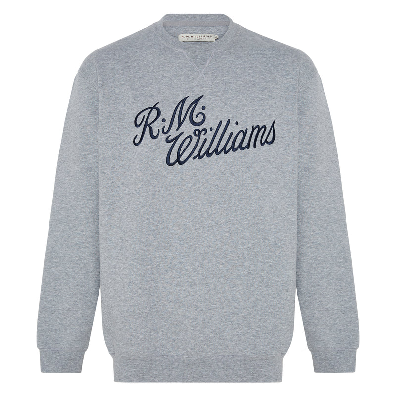 RM Williams Script Crew Neck (4498694439049)