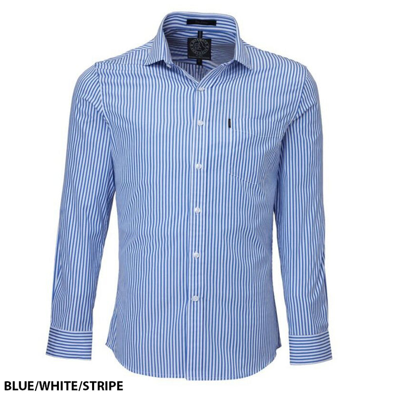 Ritemate Pilbara Stripe Single Pocket Shirt (4795464712329)