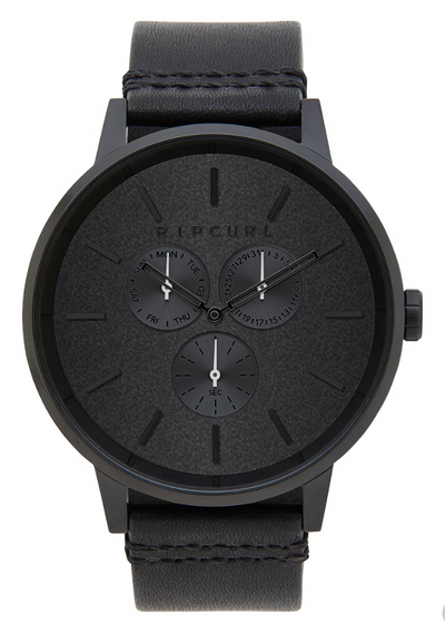 Rip Curl Detroit Multi Midnight Leather Watch (4498678349961)