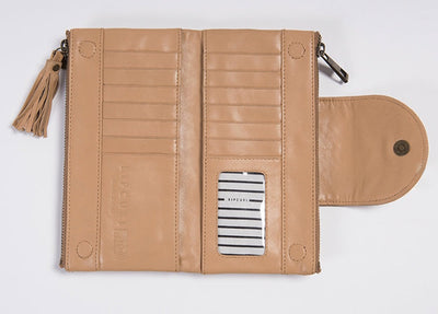Rip Curl Paradise Cove RFID Oversize Leather Wallet (4498915983497)