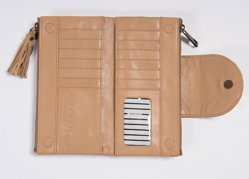 Rip Curl Paradise Cove RFID Oversize Leather Wallet