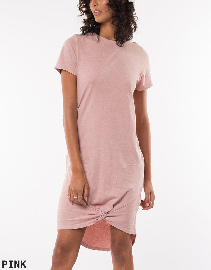 Silent Theory Twisted Tee Dress