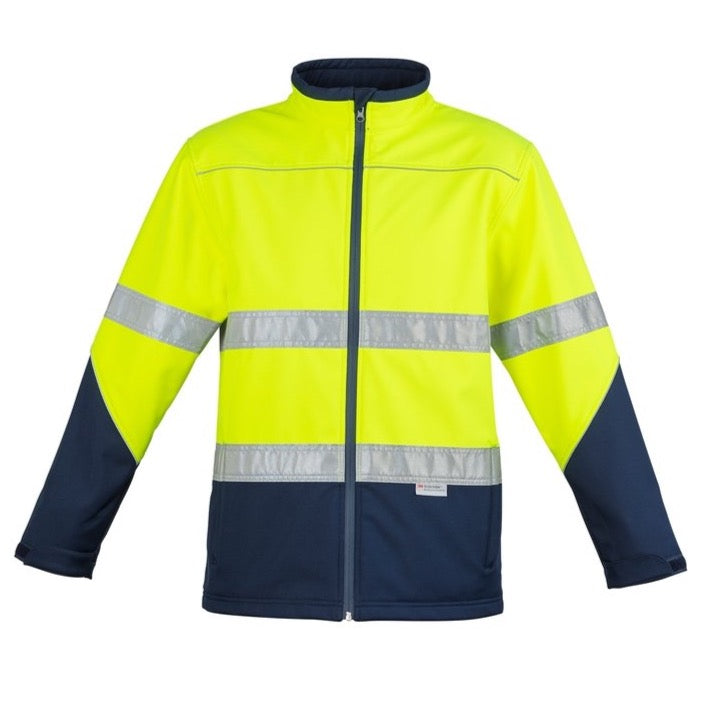 Syzmik Hi Vis Soft Shell Jacket (4498447466633)