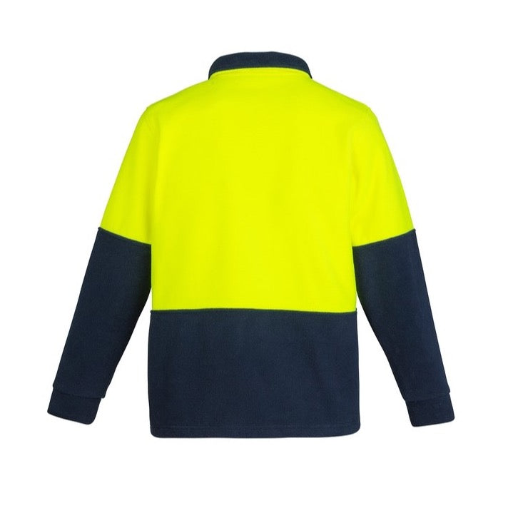 Syzmik Hi Vis Half Zip Polar Fleece Jumper