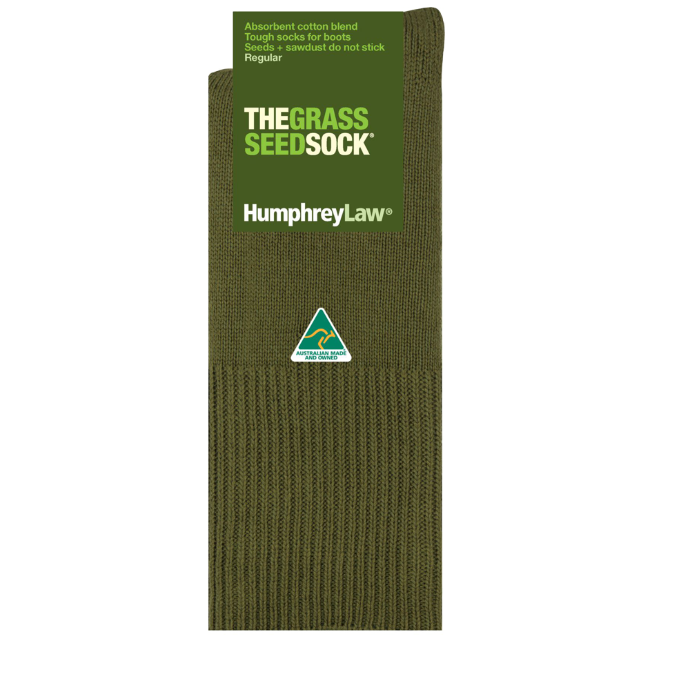 Humphrey Law Grass Seed Sock - Short (4497838309513)