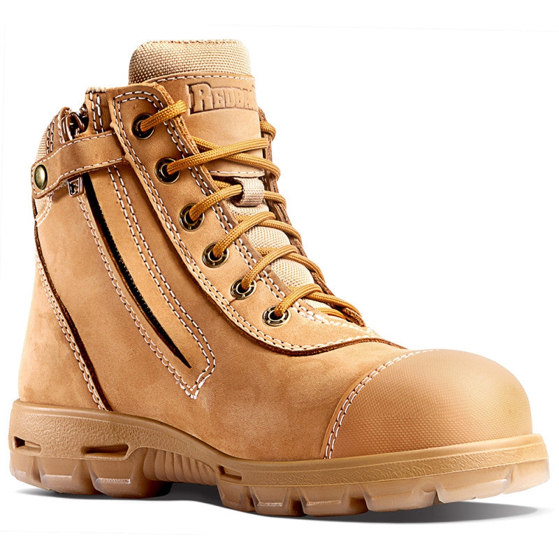 Redback Cobar Safety Toe Zip Boot