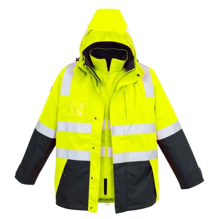 Syzmik Hi Vis 4 in 1 Waterproof Jacket