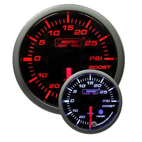 Prosport Premium Peak/Warning 60mm Gauges
