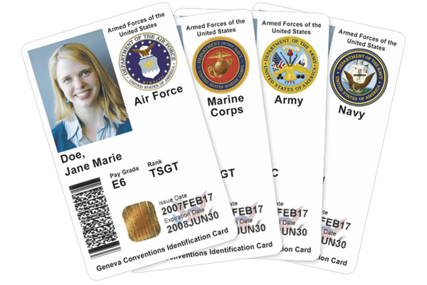 Military IDs