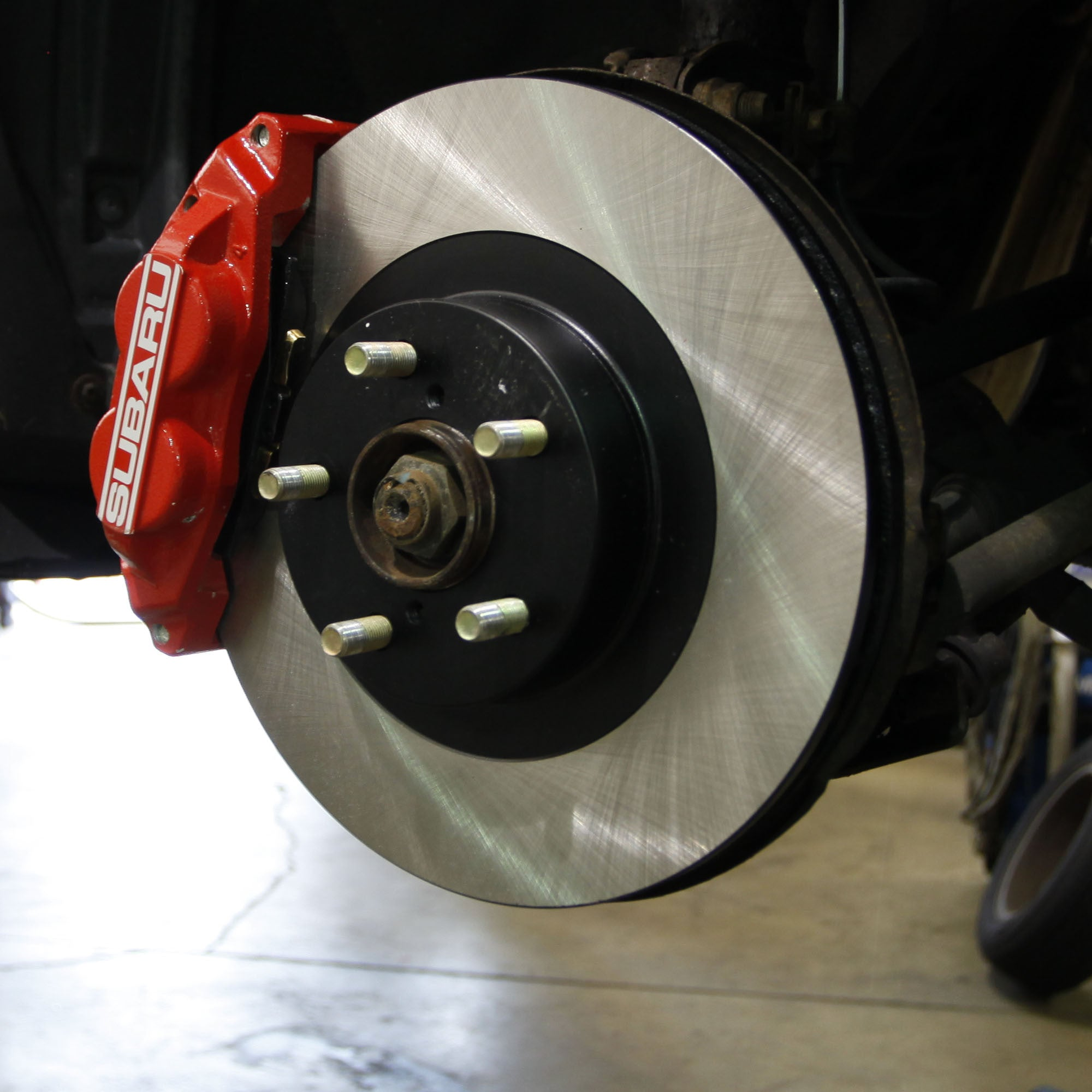 Subaru Four-Pot Brake Upgrade 2015+ WRX/2014+ Forester FRONT ONLY