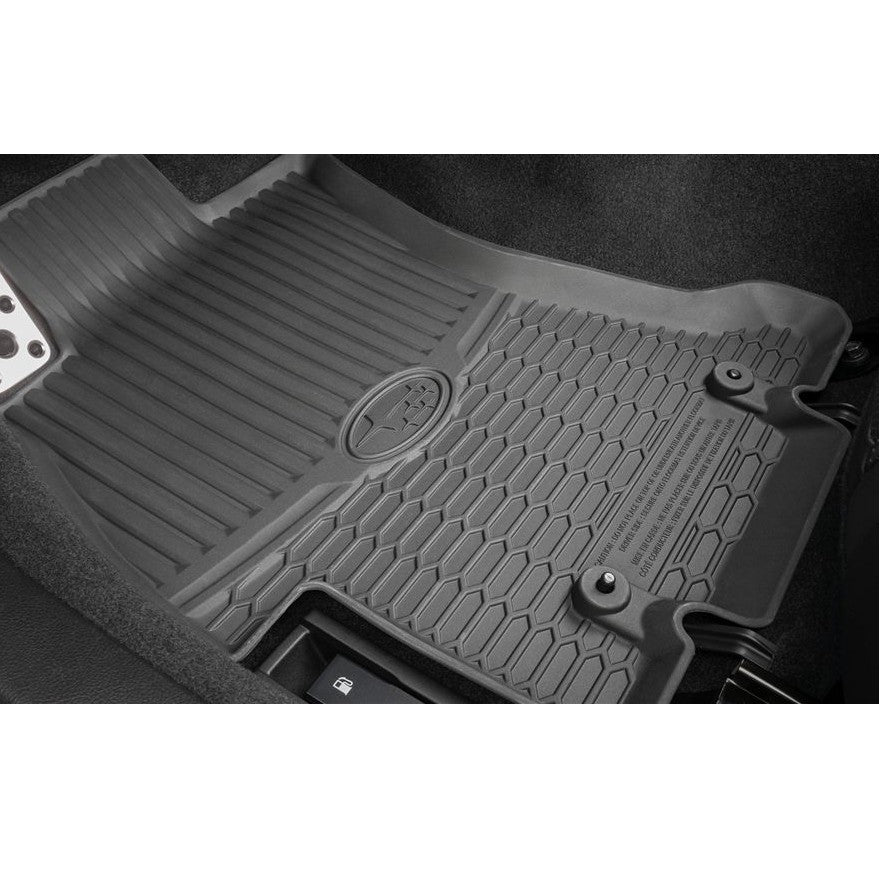 All Weather Floor Mats >> Subaru Oem All Weather Floor Mats 2015 Wrx Sti
