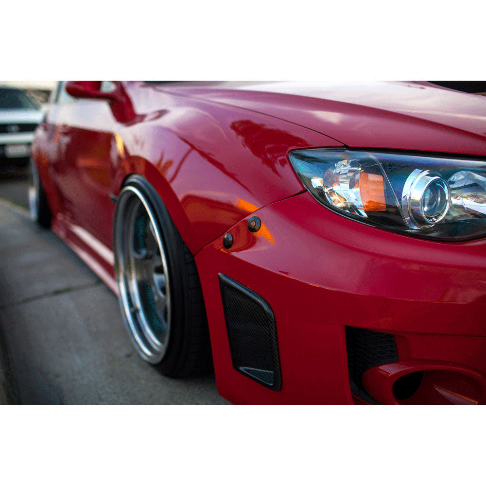 Move Over Racing Quick Release Bumper Kit 2011 2014 Wrx