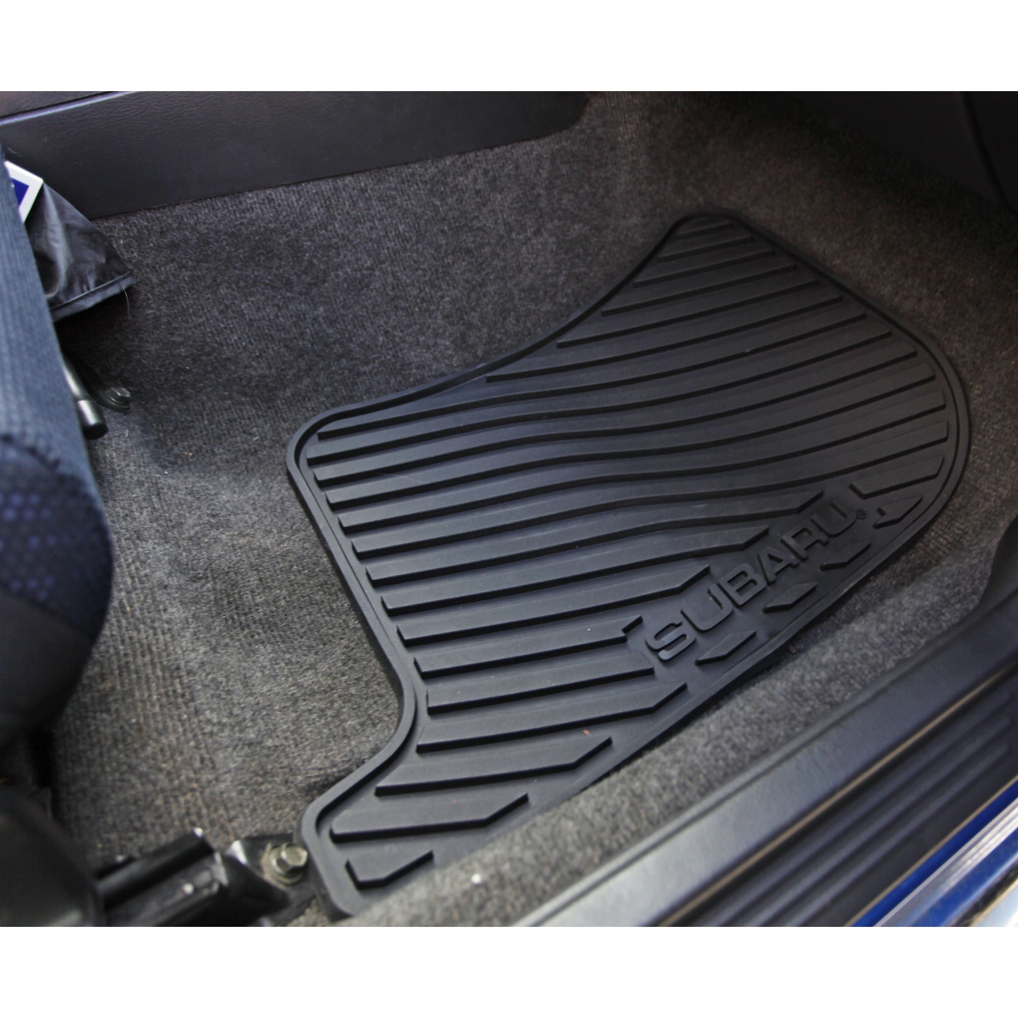 Rubber floor mats cheap - Subaru Oem All Weather Rubber Floor Mats 2002 2007 Impreza Wrx Sti