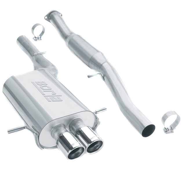 Borla Hush Cat Back Exhaust 2002 2007 WRX STI