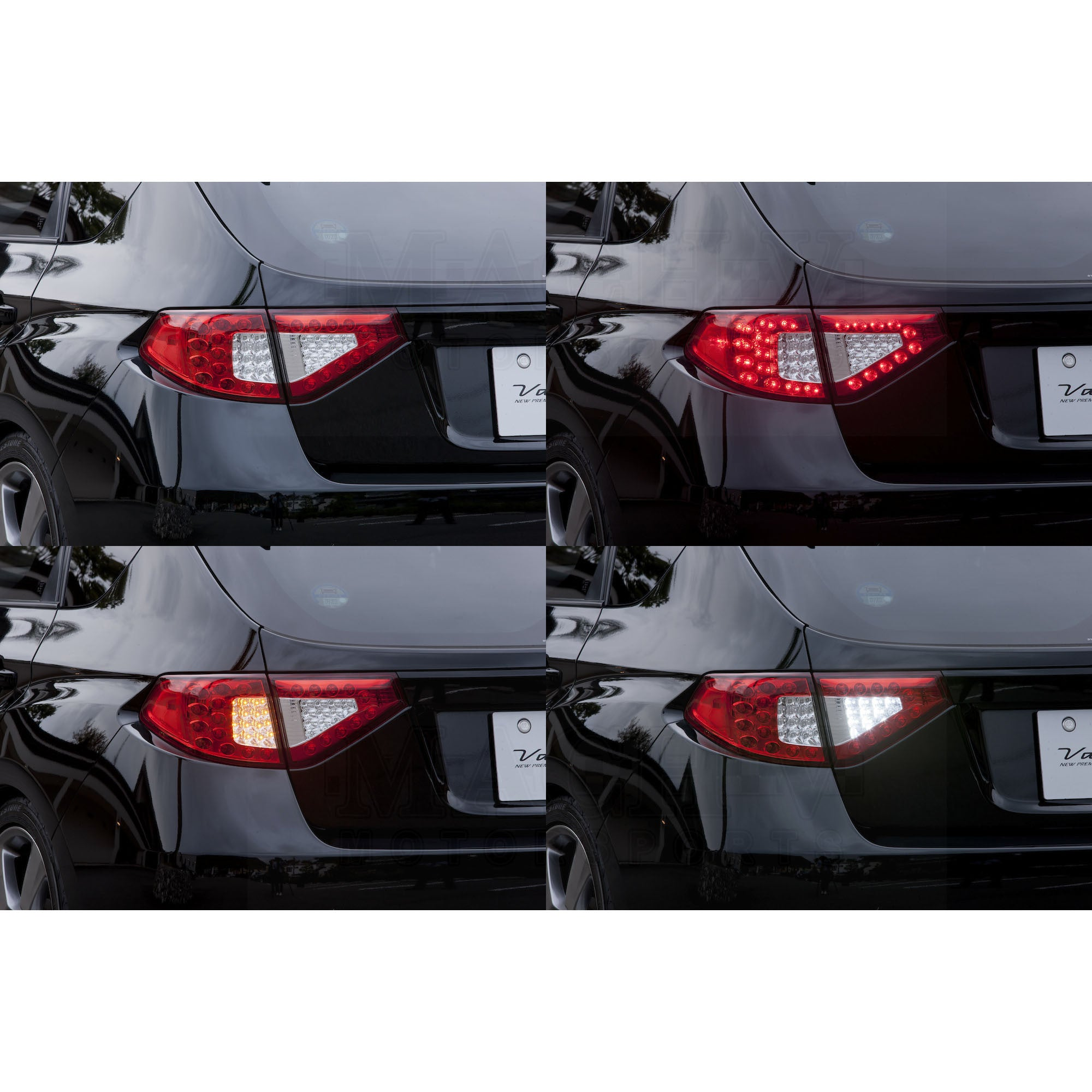 Wrx Sti Hatchback Led Tail Lights Valenti Jewel Led
