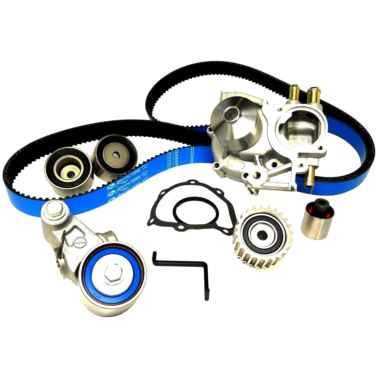 Timing Belt Components Ej205 Engine Diagram Gates Racing Kit With Water Pump 2005 2009 Legacy Gt Outback Xt
