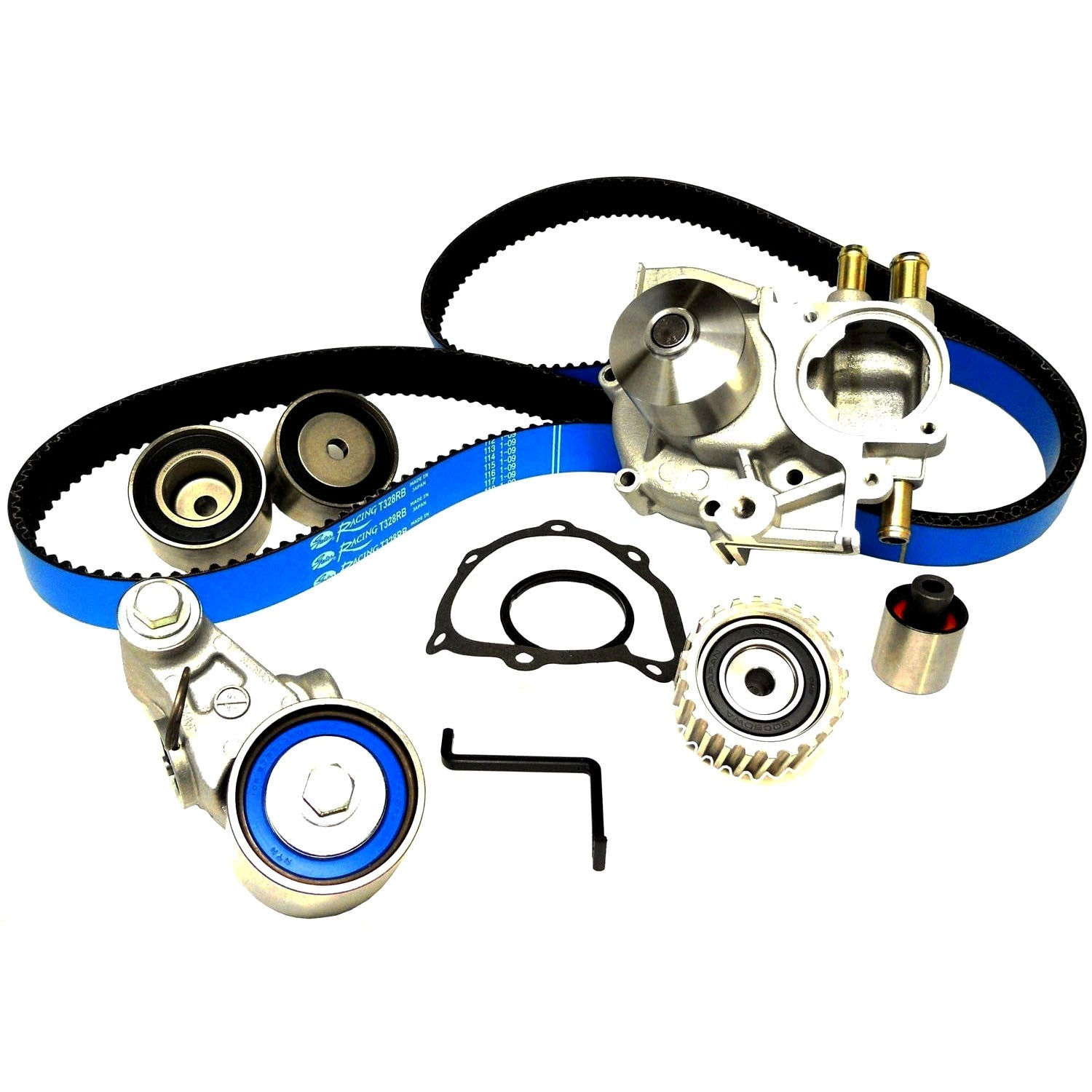 Gates Racing Timing Belt Kit With Water Pump 2006 2007 Wrx