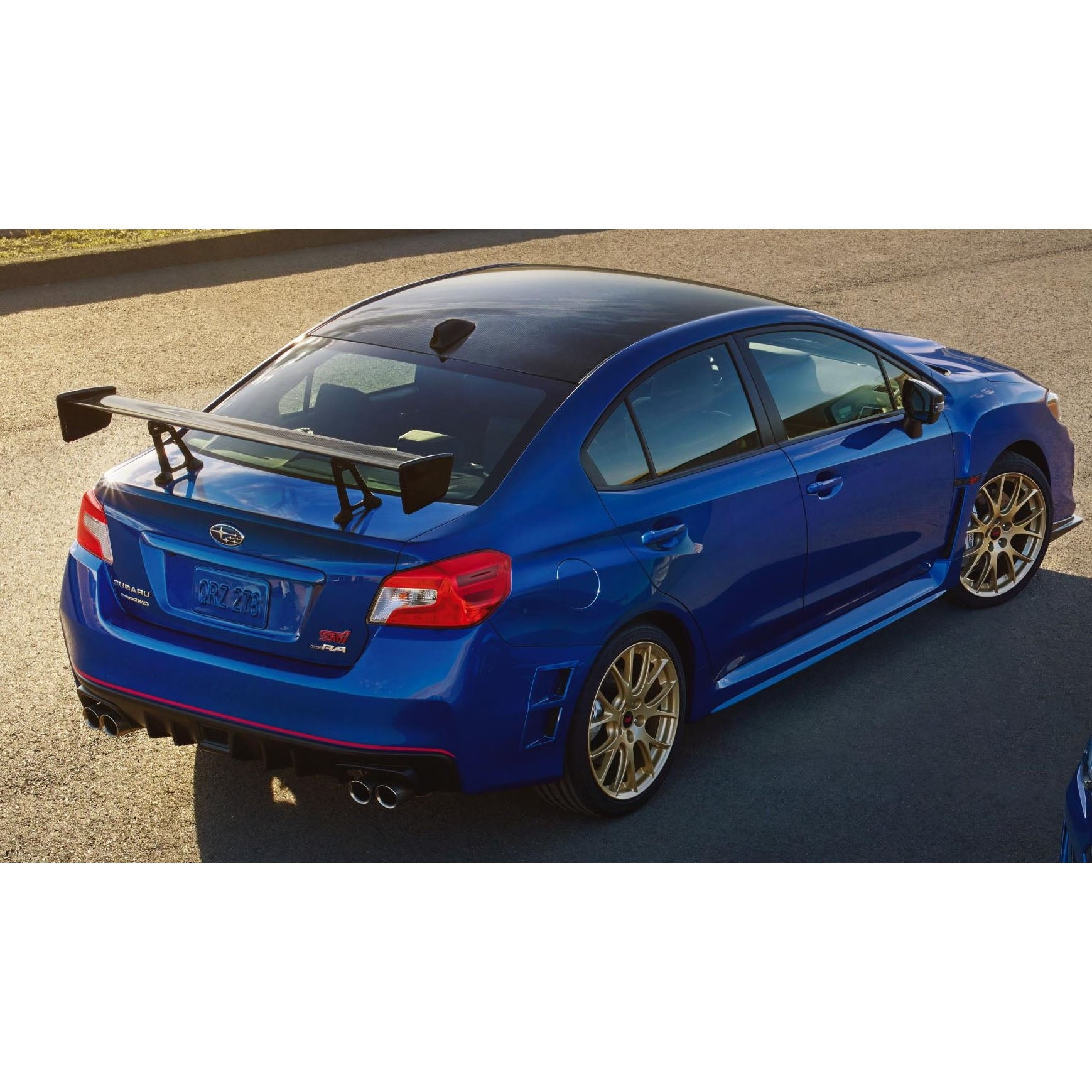 Subaru Wrx Sti For Sale >> Subaru WRX STI Type RA Carbon Fiber Rear Wing | FastWRX.com