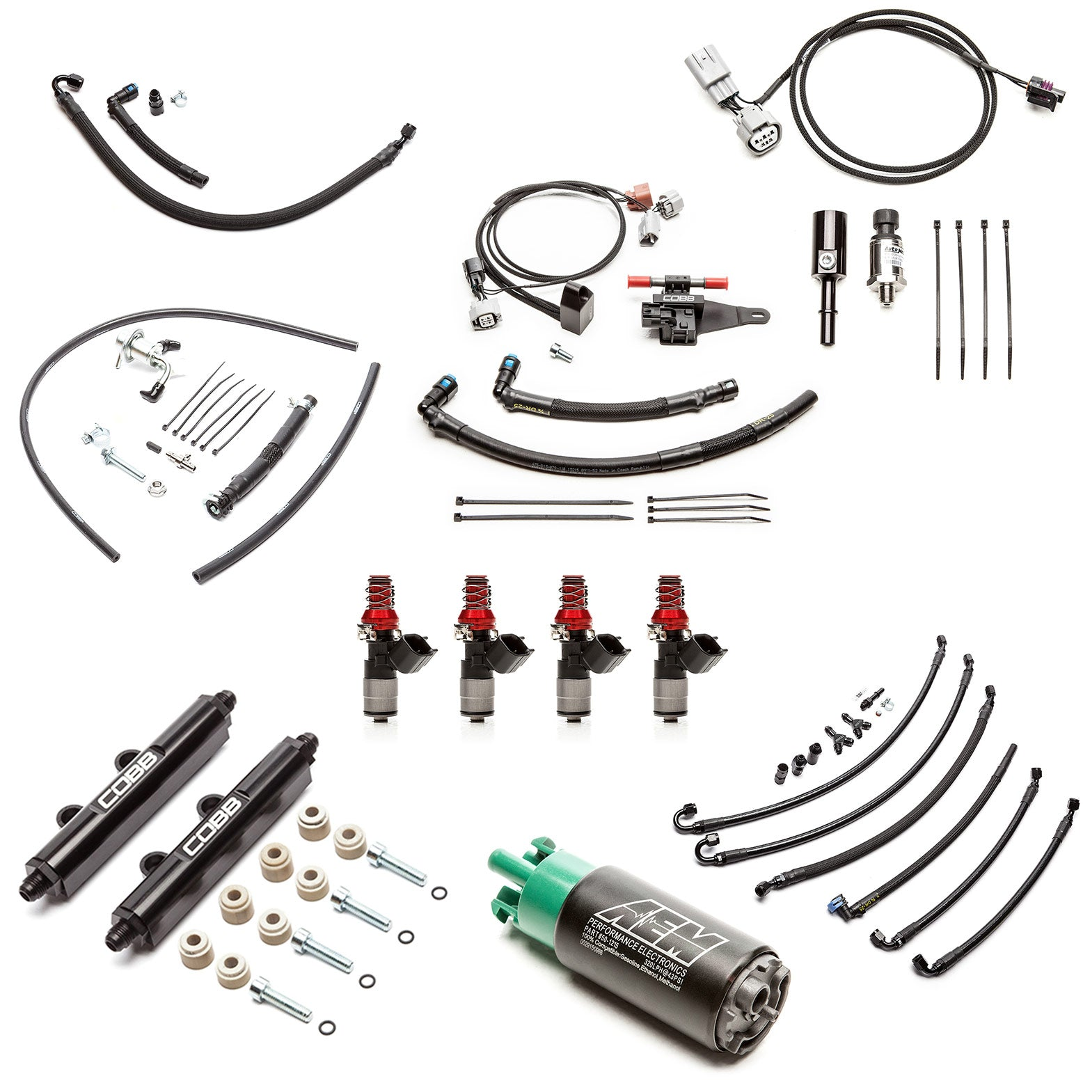 Cobb Fuel System Package + Flex Fuel 2008-2019 STI