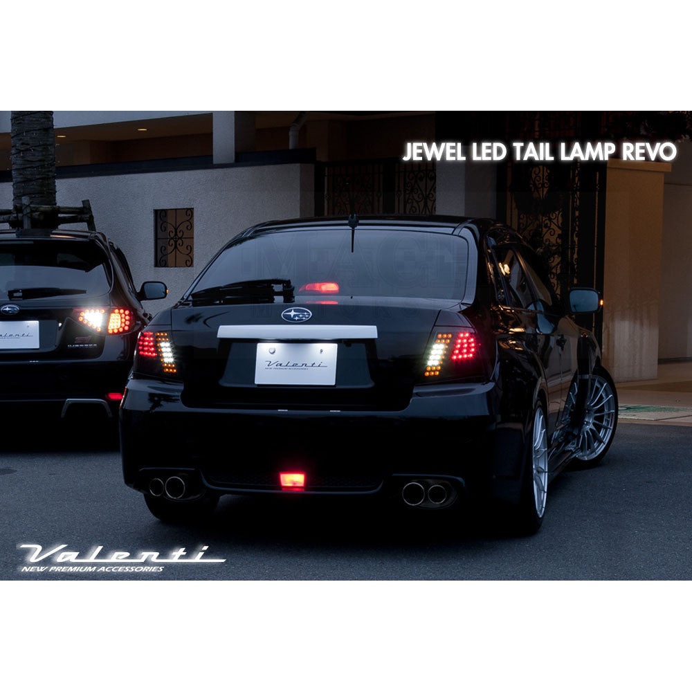 Valenti Jewel Led Tail Lamps 2008 2014 Subaru Wrx Sti