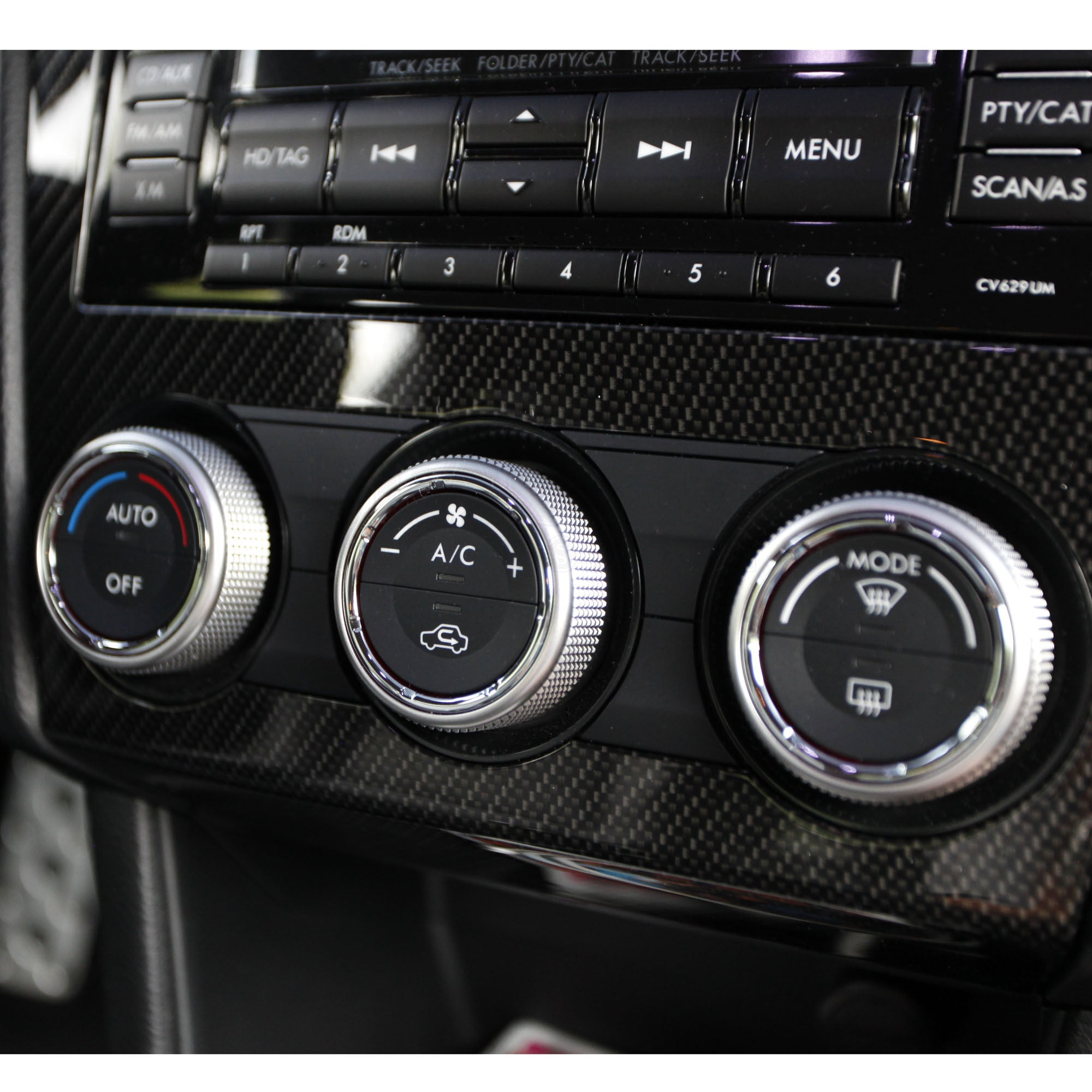 Tree Inside The House Interior Climate Controlled: Climate Control Knob Rings 2015+ WRX/STI