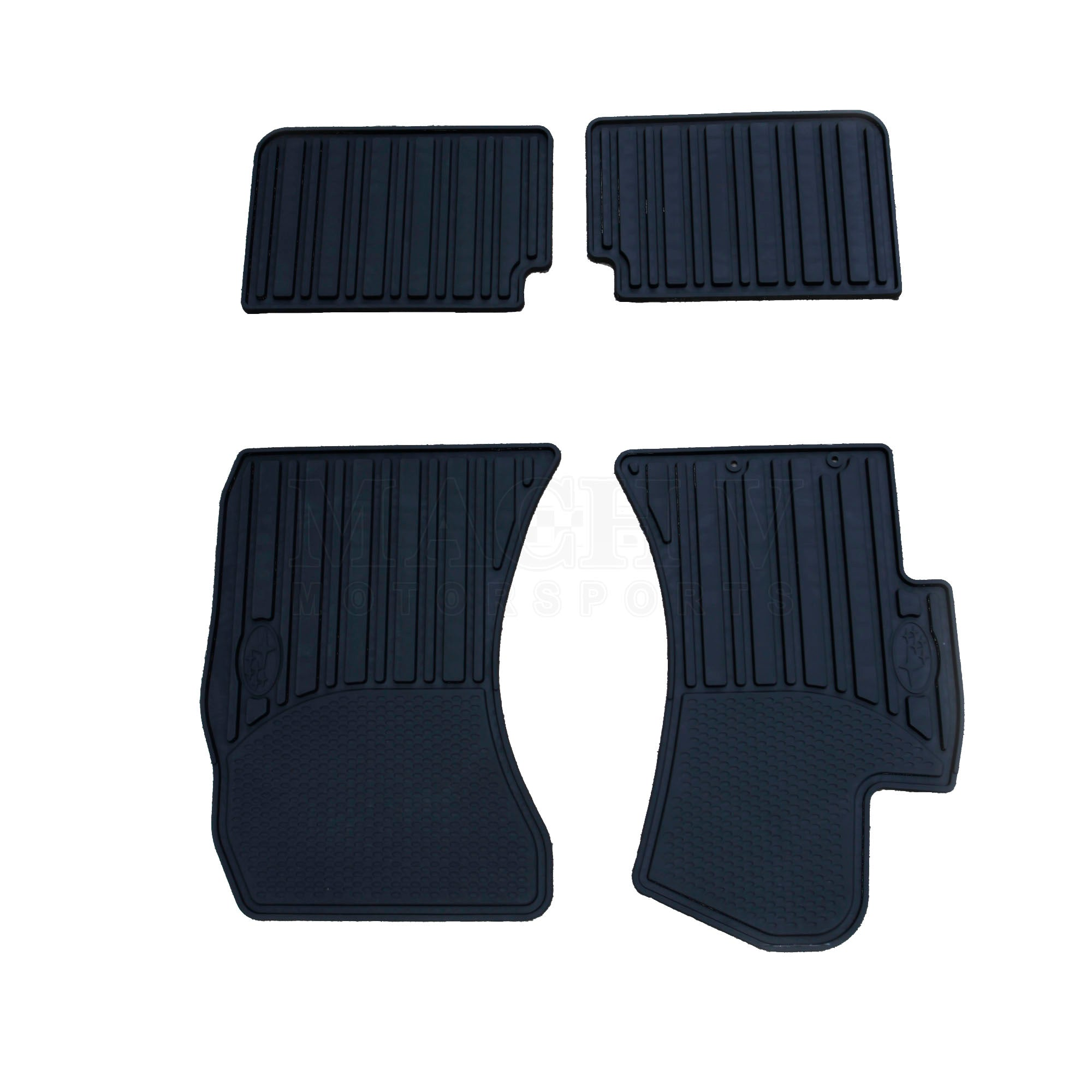 Custom Car Floor Mats for Subaru WRX 2007-2014 All Weather Waterproof Non-Slip Full Covered Protection Advanced Performance Liners Car Liner Black