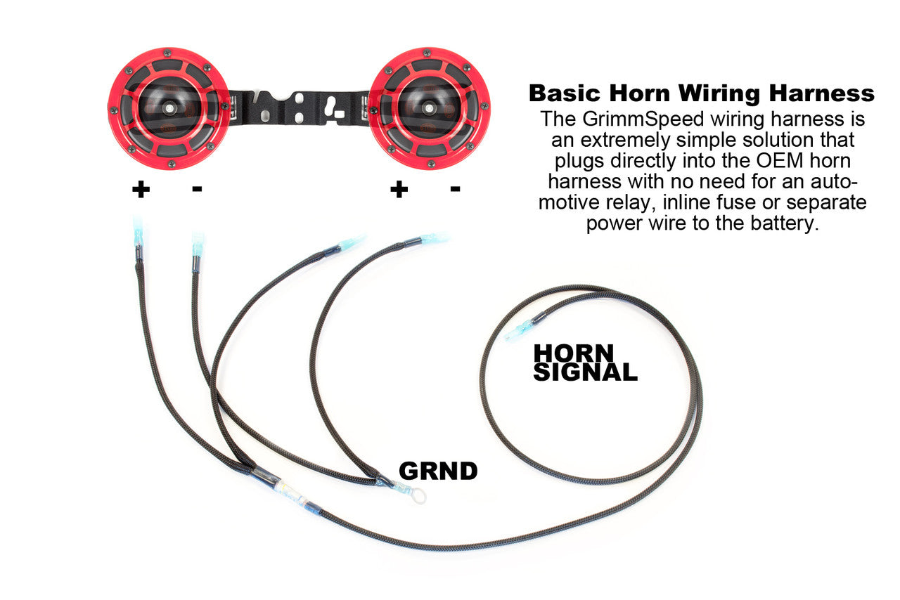 Subaru Horn Wiring Diagram Wire Data Schema 2013 Wrx Diagrams Grimmspeed Hella Harness 2002 2014 2004 Sti Rh Fastwrx Com Stereo
