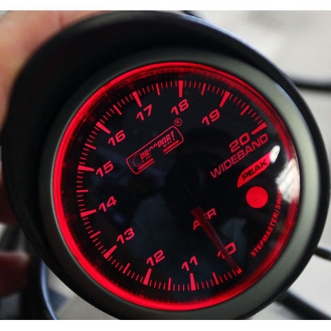 Prosport Halo-Series Wideband Air/Fuel Ratio (AFR) Gauge