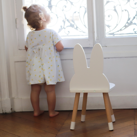 "Ensemble de Table avec Chaise Enfant - 3 coloris disponibles Chaise Boogy Woody [""CocoAndMinou""]"