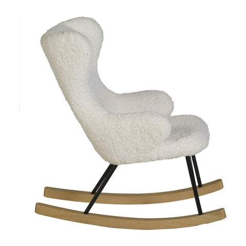 Image of Quax Chaise A Bascule pour enfant Rocking Chair de Luxe Teddy Quax- Coco & Minou