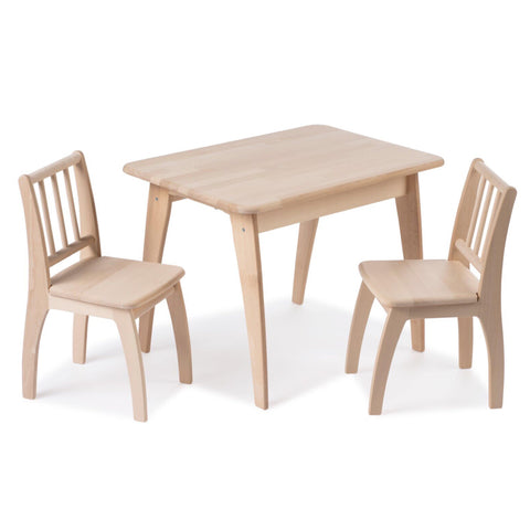 Image of Geuther Ensemble de Table avec 2 chaises Bambino Eco Geuther- Coco & Minou
