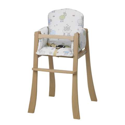 Geuther Chaise Haute Mucki en bois naturel