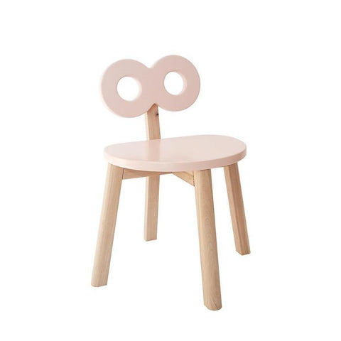 Image of Ooh Noo Chaise double-O pour enfant - Blush ooh noo- Coco & Minou