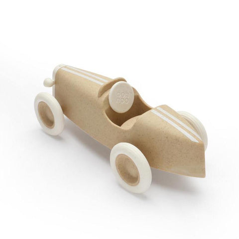 Image of Ooh Noo Grand Prix Racing Car Voiture de course - Beige ooh noo- Coco & Minou