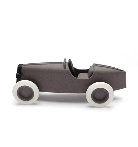 Image of Ooh Noo Grand Prix Racing Car Voiture de course - Taupe ooh noo- Coco & Minou