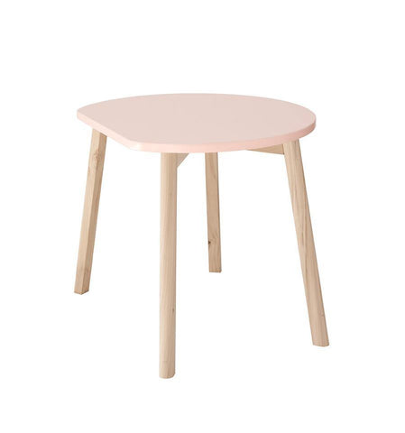 Image of Ooh Noo Table demi-lune en bois - Blush ooh noo- Coco & Minou