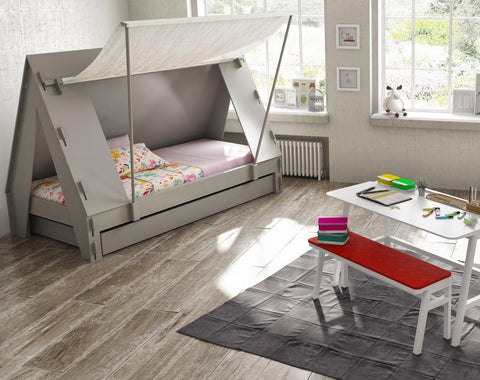 Mathy By Bols Lit Tente 90x200cm - Couleur au choix Mathy by Bols- Coco & Minou