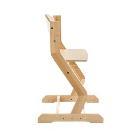 Image of tiSsi® Chaise Haute Ergonomique et Evolutive Bois Naturel TISSI®- Coco & Minou