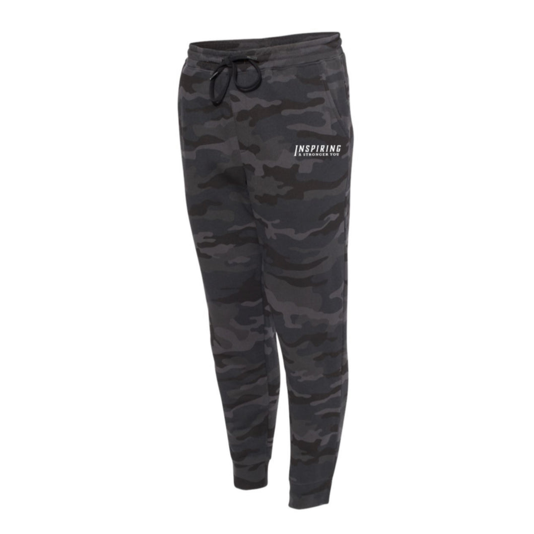 Black Camo Fleece IASY Joggers