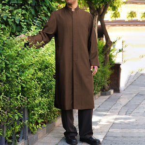 Men's Muslim Loose Long Sleeve Kaftan