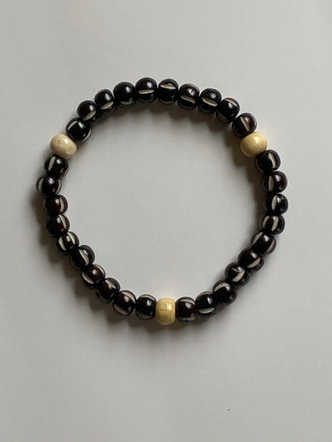Men's Tasbih India Bone Prayer Bracelet