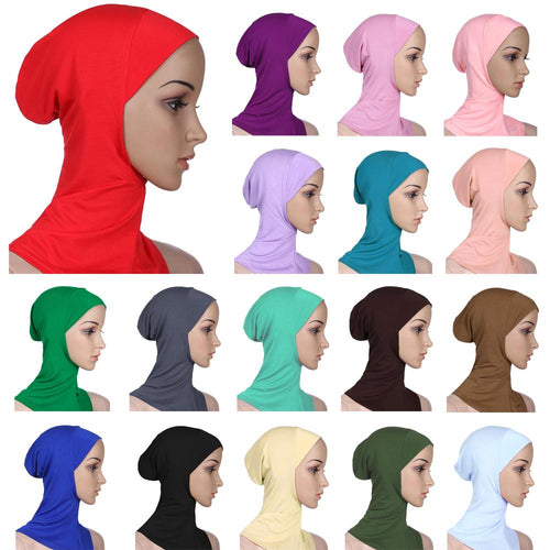 Soft Muslim Full Cover Hijab Under-scarves