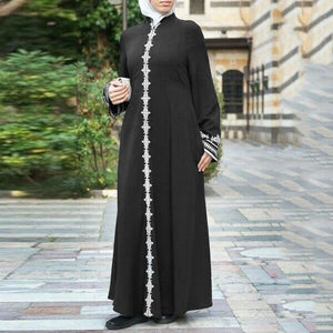 Women's Lace-down Abaya